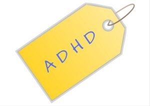 ADHD - label
