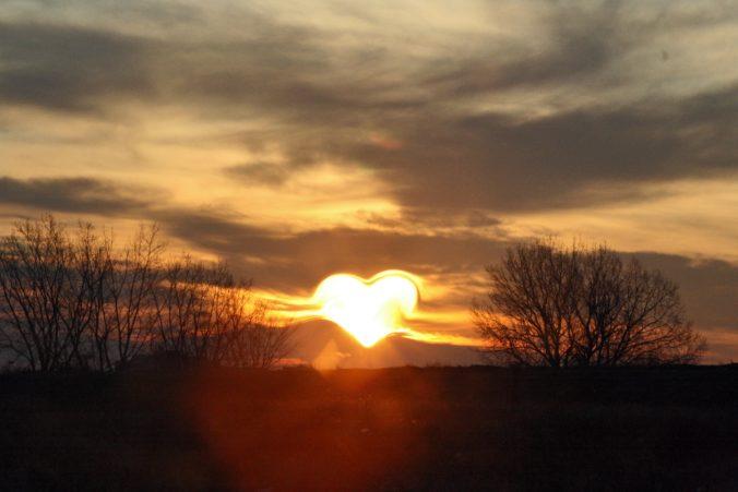 hart in de lucht